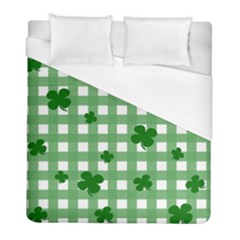 Clover Pattern Duvet Cover (full/ Double Size) by Valentinaart
