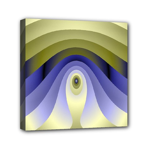 Fractal Eye Fantasy Digital Mini Canvas 6  X 6  by Nexatart