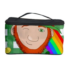 Lucky Irish Cosmetic Storage Case by Valentinaart