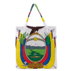 Coat Of Arms Of Ecuador Grocery Tote Bag by abbeyz71