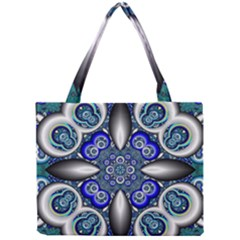 Fractal Cathedral Pattern Mosaic Mini Tote Bag by Nexatart