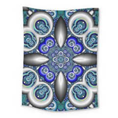 Fractal Cathedral Pattern Mosaic Medium Tapestry