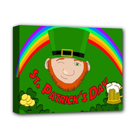 St  Patrick s Day Deluxe Canvas 14  X 11  by Valentinaart