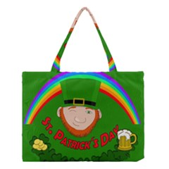 St  Patrick s Day Medium Tote Bag by Valentinaart