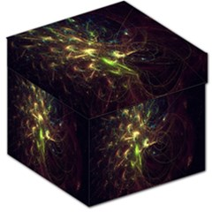 Fractal Flame Light Energy Storage Stool 12   by Nexatart