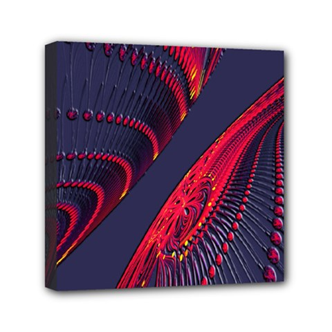 Fractal Fractal Art Digital Art Mini Canvas 6  X 6  by Nexatart