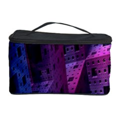 Fractals Geometry Graphic Cosmetic Storage Case by Nexatart