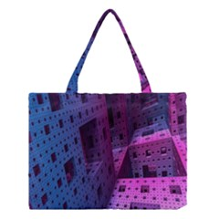 Fractals Geometry Graphic Medium Tote Bag by Nexatart