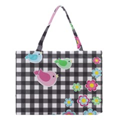 Cute Spring Pattern Medium Tote Bag by Valentinaart