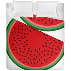 Watermelon Duvet Cover Double Side (california King Size) by Valentinaart