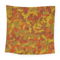 Orange Autumn Square Tapestry (large) by Valentinaart