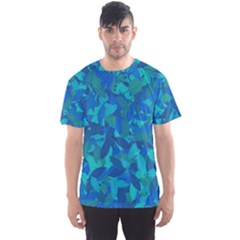 Blue Autumn Men s Sport Mesh Tee