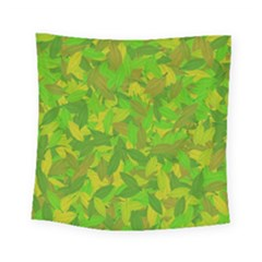 Green Autumn Square Tapestry (small) by Valentinaart