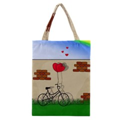 Secret Love Classic Tote Bag by Valentinaart