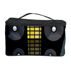 Loudspeakers  Cosmetic Storage Case by Valentinaart