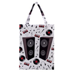 Loud Music Classic Tote Bag by Valentinaart