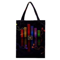 Energy Of The Sound Classic Tote Bag by Valentinaart