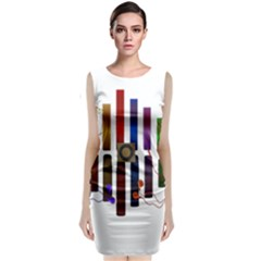 Energy Of The Sound Classic Sleeveless Midi Dress
