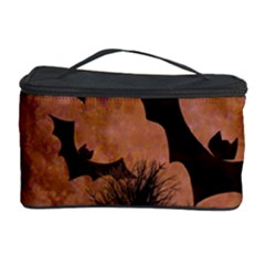 Halloween Card Scrapbook Page Cosmetic Storage Case by Nexatart