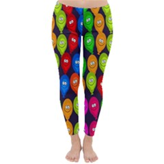Happy Balloons Classic Winter Leggings by Nexatart