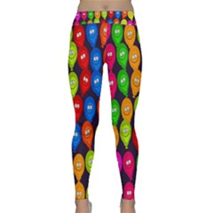 Happy Balloons Classic Yoga Leggings by Nexatart