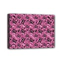 Floral Pink Collage Pattern Mini Canvas 7  x 5  View1