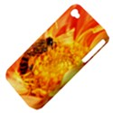 Honey Bee Takes Nectar Apple iPhone 4/4S Hardshell Case (PC+Silicone) View4
