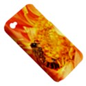 Honey Bee Takes Nectar Apple iPhone 4/4S Hardshell Case (PC+Silicone) View5