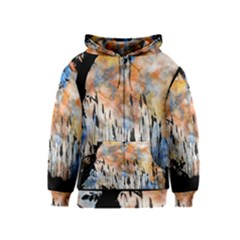 Landscape Sunset Sky Summer Kids  Zipper Hoodie by Nexatart