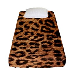Leopard Print Animal Print Backdrop Fitted Sheet (single Size)