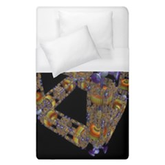 Machine Gear Mechanical Technology Duvet Cover (single Size) by Nexatart