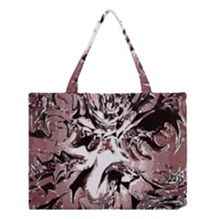 Metal Lighted Background Light Medium Tote Bag by Nexatart