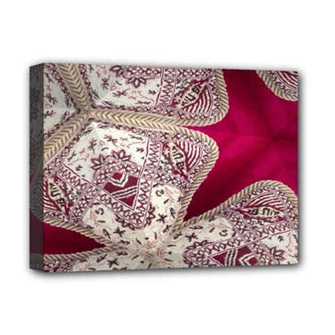 Morocco Motif Pattern Travel Deluxe Canvas 16  X 12   by Nexatart