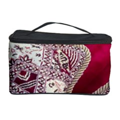 Morocco Motif Pattern Travel Cosmetic Storage Case by Nexatart