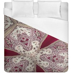 Morocco Motif Pattern Travel Duvet Cover (king Size) by Nexatart