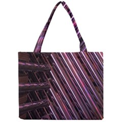 Metal Tube Chair Stack Stacked Mini Tote Bag by Nexatart