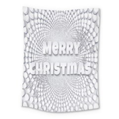 Oints Circle Christmas Merry Medium Tapestry by Nexatart