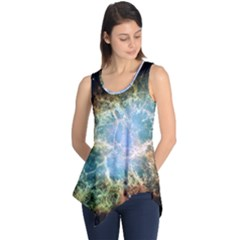 Crab Nebula Sleeveless Tunic by SheGetsCreative