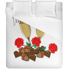 Valentine s Day Romantic Design Duvet Cover (california King Size) by Valentinaart