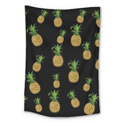 Pineapples Large Tapestry by Valentinaart