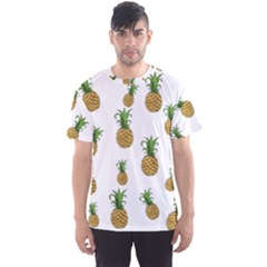 Pineapples Pattern Men s Sport Mesh Tee