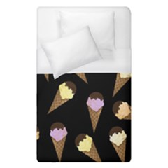 Ice Cream Cute Pattern Duvet Cover (single Size) by Valentinaart