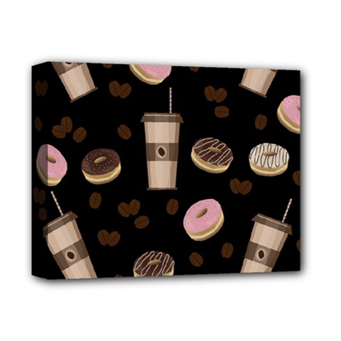 Coffee Break Deluxe Canvas 14  X 11  by Valentinaart