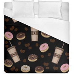 Coffee Break Duvet Cover (king Size) by Valentinaart
