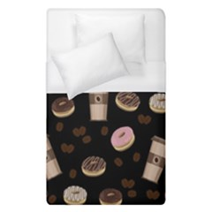 Coffee Break Duvet Cover (single Size) by Valentinaart