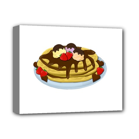 Pancakes   Shrove Tuesday Deluxe Canvas 14  X 11  by Valentinaart