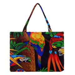 Parrots Aras Lori Parakeet Birds Medium Tote Bag