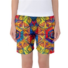 Excitement - Women s Basketball Shorts by tealswan