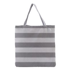 Pattern Half Tone Grocery Tote Bag by Nexatart