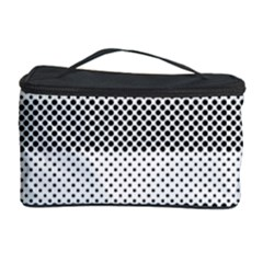Pattern Half Tone Cosmetic Storage Case by Nexatart